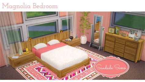 sims 4 cc furniture my sims 4 blog magnolia bedroom recolors by saudadesims