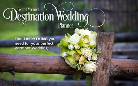 Welcome To The Rutland Region Chamber Of Commerce Vt Wedding Planner Book