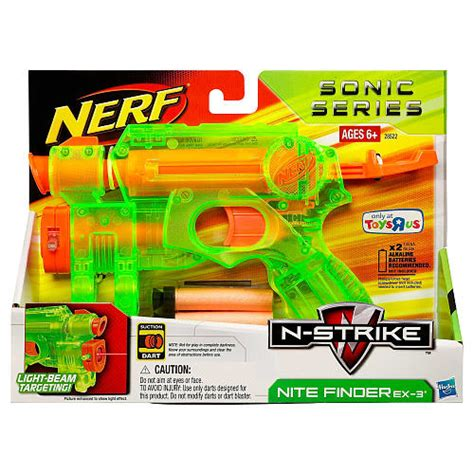 Nerf Langka Deploy Cs 6 Sonic new nerf guns nerf sonic series