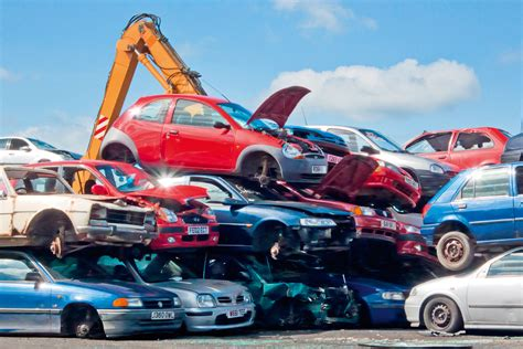 Auto Schrott by Cloned Cars Scrap Yard Free Images At Clker Vector