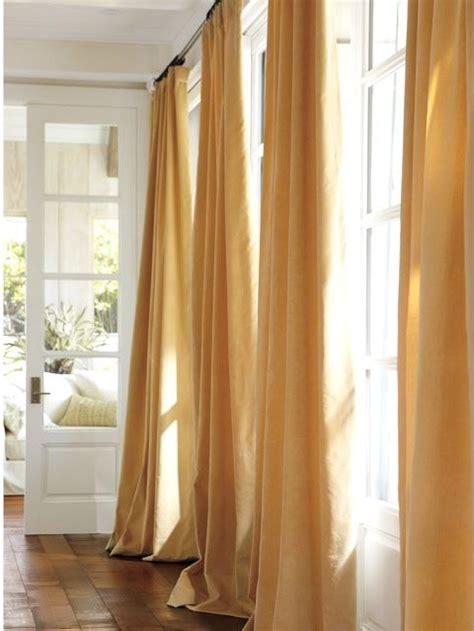 pottery barn velvet curtains velvet drape wheat modern curtains by pottery barn