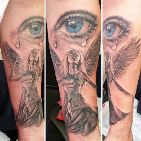 tattoo angel eyes angel tattoos and designs page 54