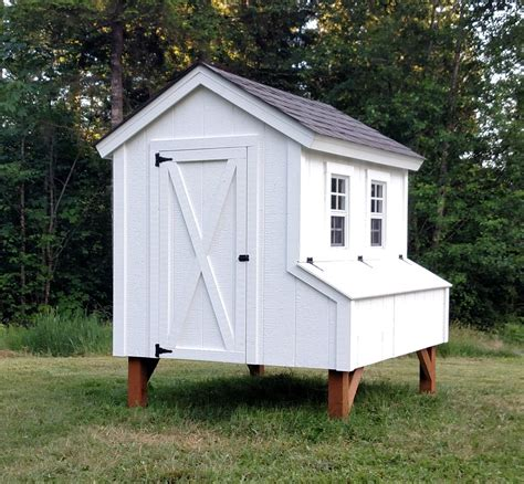 Chicken Hutch Design 5x6 Chicken Coop Plans Easy To Follow Plans For The