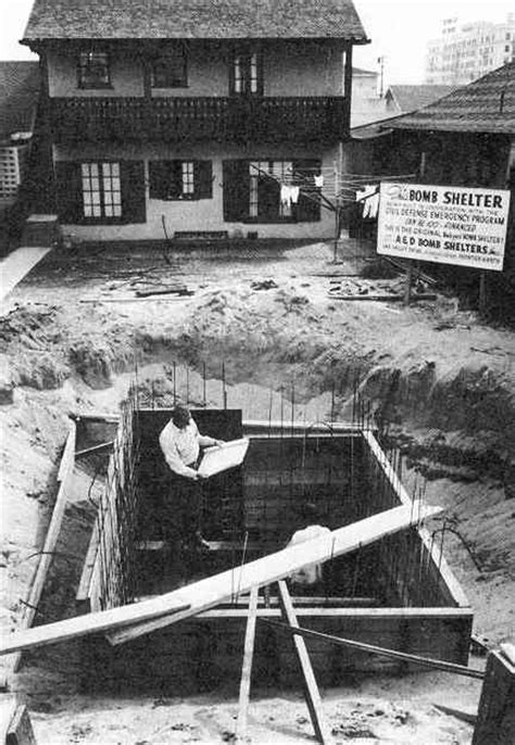 backyard bomb shelter 1349 n gardner avenue hollywood fallout shelter included