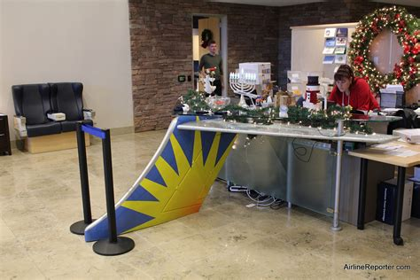 Front Desk Hq by Touring Allegiant Air S Headquarters In Las Vegas