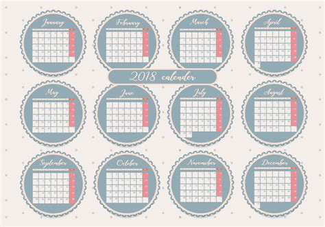 printable calendar vector printable monthly calendar vol 2 vector download free