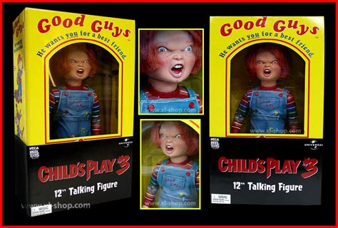 three guys talking my or my children s volume 1 books neca cult classics 12 talking figure child s play 3