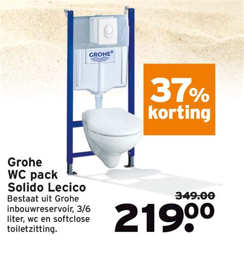 Praxis Grohe Wc by Grohe Douchekraan Precision Trend 35 Korting Aanbieding