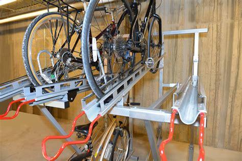 Bike Rack Parking Systems by Hi Density Bike Rack Cyclesafe