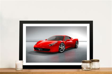 ferrari wall art red ferrari canvas art print wall art sydney perth