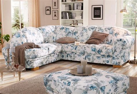 mit ottomane links home affaire ecksofa 187 amrum 171 mit blumenmuster wahlweise