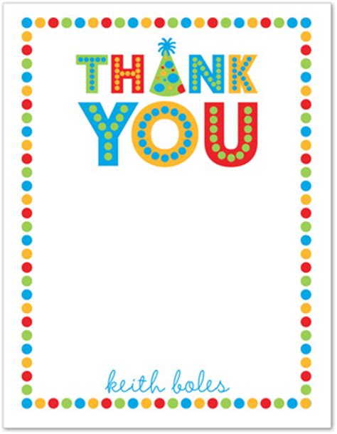 printable stationery thank you word first blue birthday thank you cards stationery note