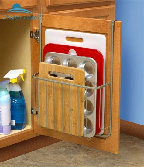 kitchen cabinet door storage racks over the door pantry organizer rack kitchen storage