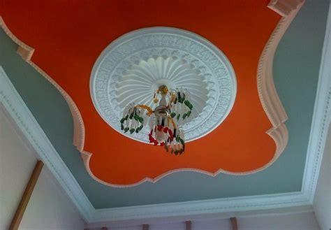 warna cat plafon rumah gypsum interior rumah