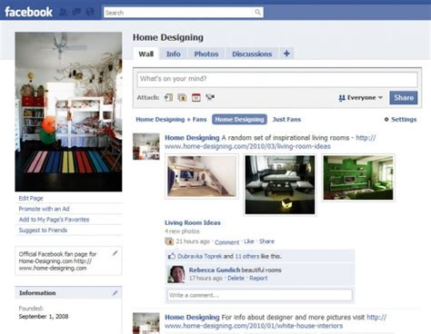 home design facebook facebook home page design images