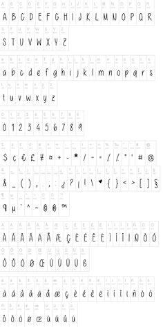 dafont moonflower the skinny font dafont com typography pinterest