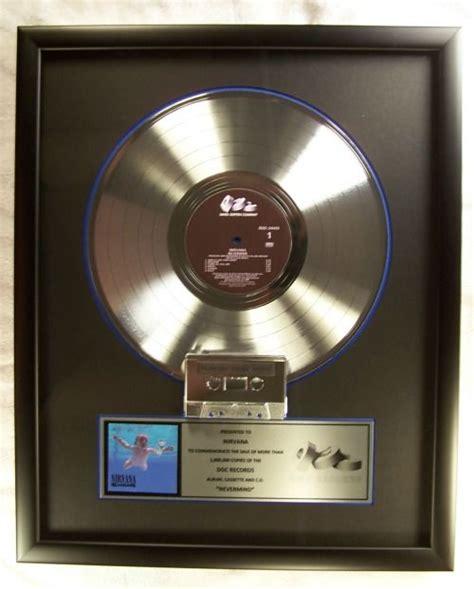 nirvana nevermind cassette nirvana quot nevermind quot lp cassette official in house award