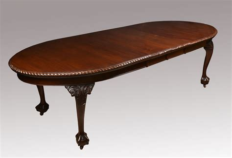 Mahogany Oval Dining Table Mahogany Oval Extending Dining Table Antiques Atlas