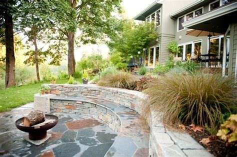 woodland pit landscape ideas landscaping network