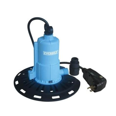 automatic water for basement everbilt 1 8 hp pool cover pc00801g the home depot