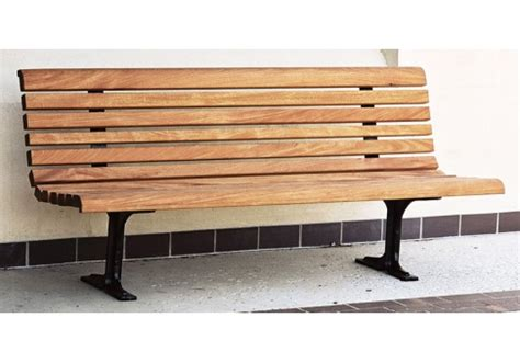 wooden park benches 6 classic wood park bench commercial site furnishings