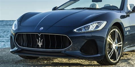 maserati sedan 2018 2018 maserati grancabrio granturismo fully revealed for