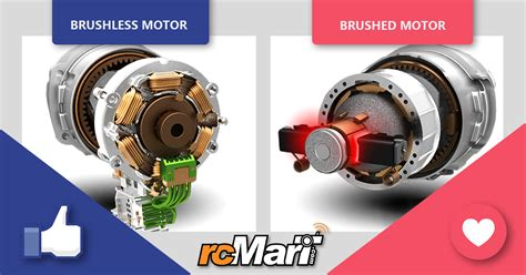 brushed motor vs brushless motor team rcmart