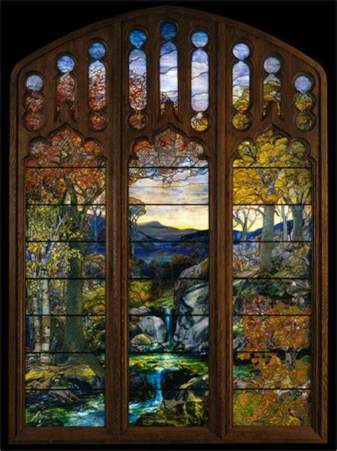 Sunglases Di 1870 autumn landscape 1924 louis comfort wikiart org