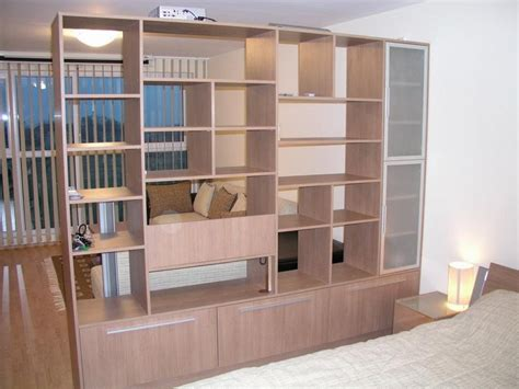 bedroom divider cabinet as partition bookcase room dividers american hwy