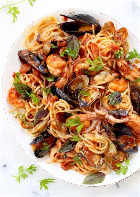 di mare frutti di mare recipe seafood spaghetti ciaoflorentina