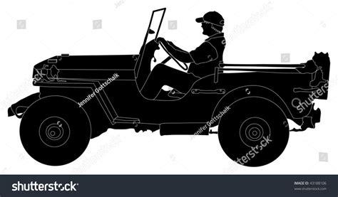 jeep silhouette jeep silhouette clip cliparts