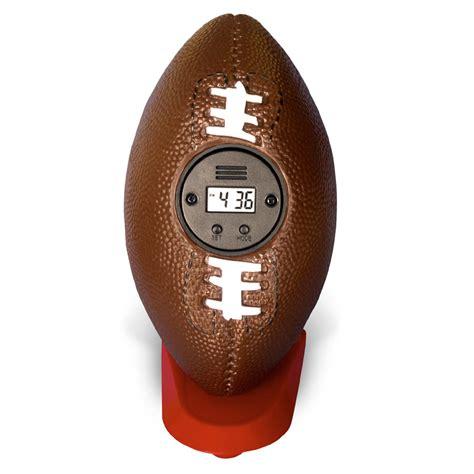 football bouncing alarm clock by my sports clock rosenberryrooms