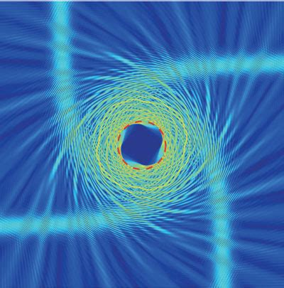 artificial optical material might allow the study of the