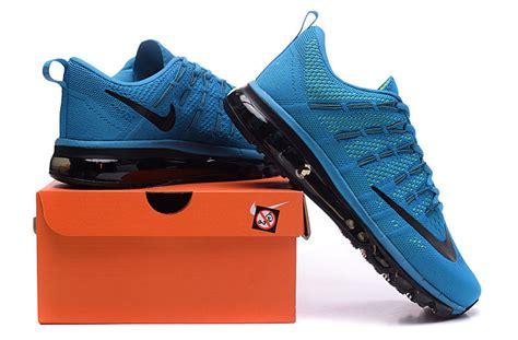 Nike Flyknit 2016 C 20 s nike max 2016 flyknit blue black shoes