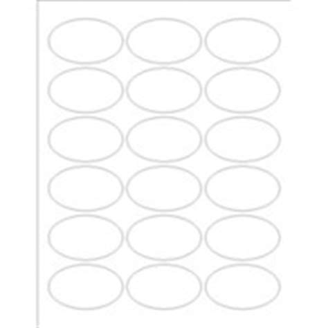 Templates Print To The Edge Oval Labels 18 Per Sheet Avery Q Connect Labels 8 Per Sheet Template