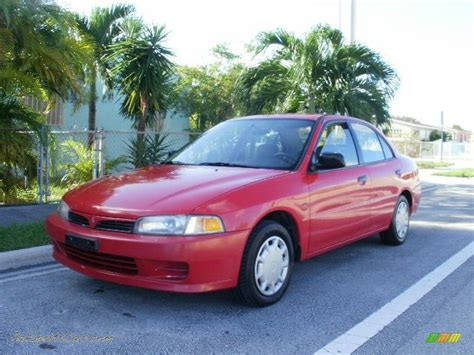 how does cars work 2001 mitsubishi mirage navigation system 2001 mitsubishi mirage es sedan in phoenix red 028765