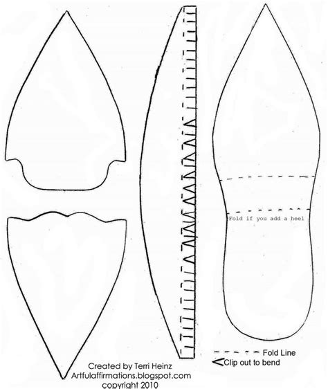 how to make paper shoes templates 52 best paper shoes images on doll shoes