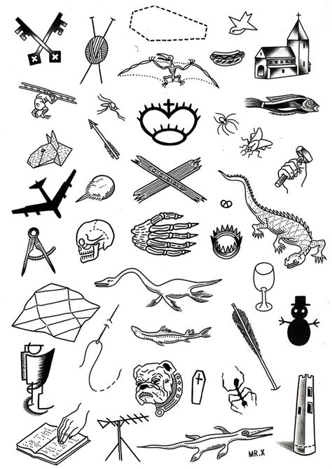 tattoo sheets duncan x flash sheet 7 tattoos tats vintage
