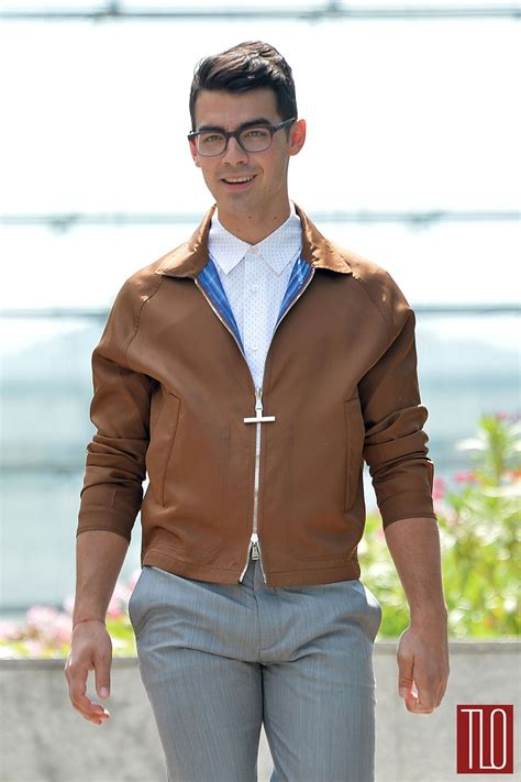 joe jonas at the louis vuitton spring 2015 fashion show