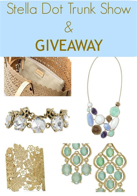 Stella And Dot Giveaway - stella dot trunk show and giveaway