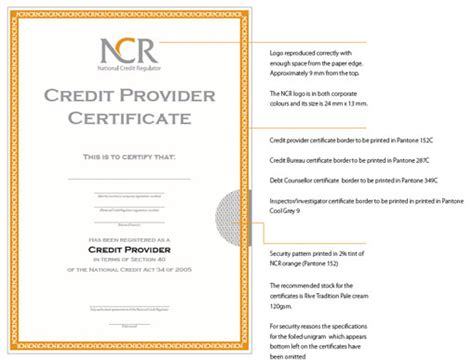 credit credit service provider corporate identity manual