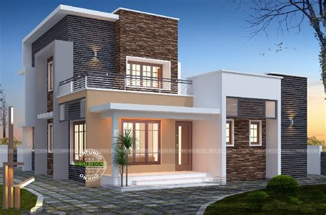 1656 sq ft 3 bedroom flat roof home kerala home design and floor plans 3 bedroom flat roof 1516 sq ft home amazing architecture magazine