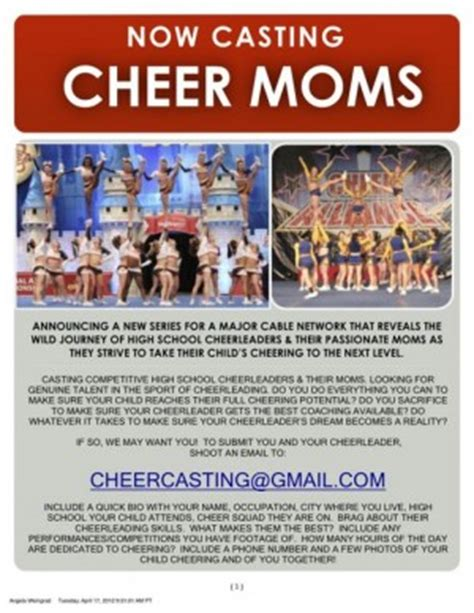 Cheerleading Quotes For Flyers Quotesgram Cheerleading Flyer Template