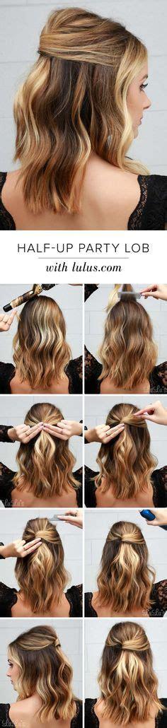 simple half up party lob the prettiest half up half down best 25 hair half up ideas on pinterest half up