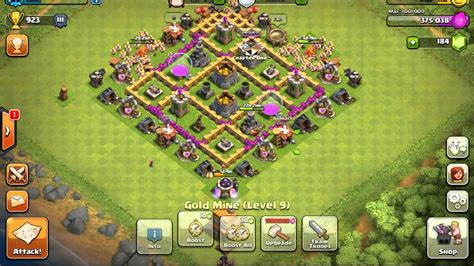 clash of clans th6 farming base quotes best th6 farm base defense clash of clans youtube