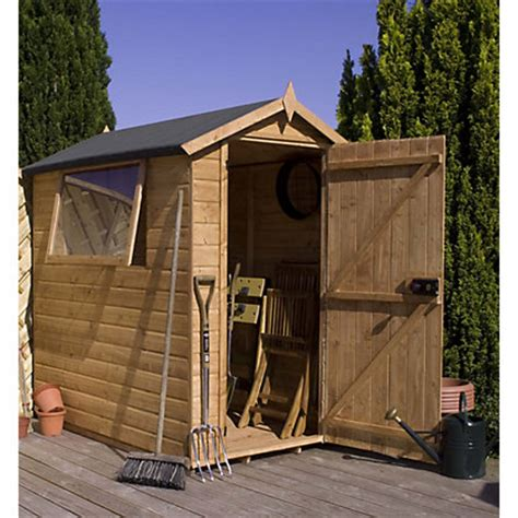 Home Base Garden Sheds by Garden Sheds Metal Plastic And Wooden Sheds At Homebase