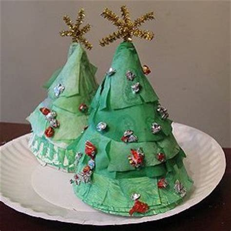christmas tree crafts preschool paper plate trees allfreekidscrafts