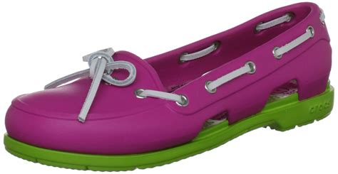 crocs men s beach line boat shoe rubber boat shoes crocs women s beach line boat water shoe pink size 9 free