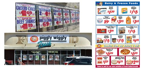 supermarket layout and marketing graphic print ad design grocery store services grocery