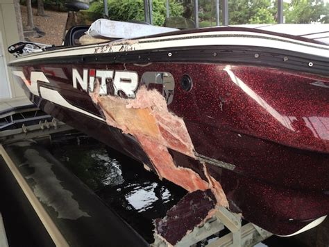 boat crash bass lake bass boat crashes into dock at majestic condos lake of